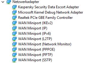 Windows 10 Teredo-Tunneling-Adapter nicht auffindbar/installierbar