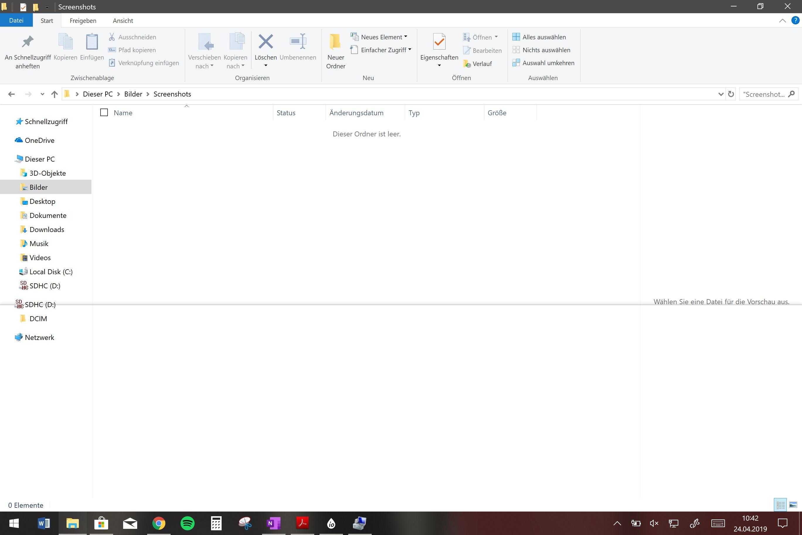 Bildschirmtastatur startet nicht mehr (Surface Pro 5)