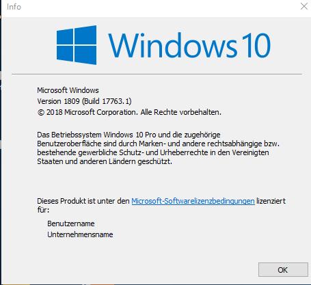 Windows Herbst Update 2018
