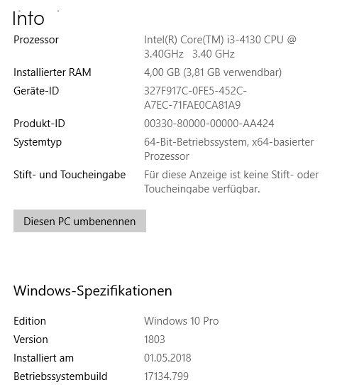Funktionsupdate für Windows 10, Version 1903 – Fehler 0xfffffffe