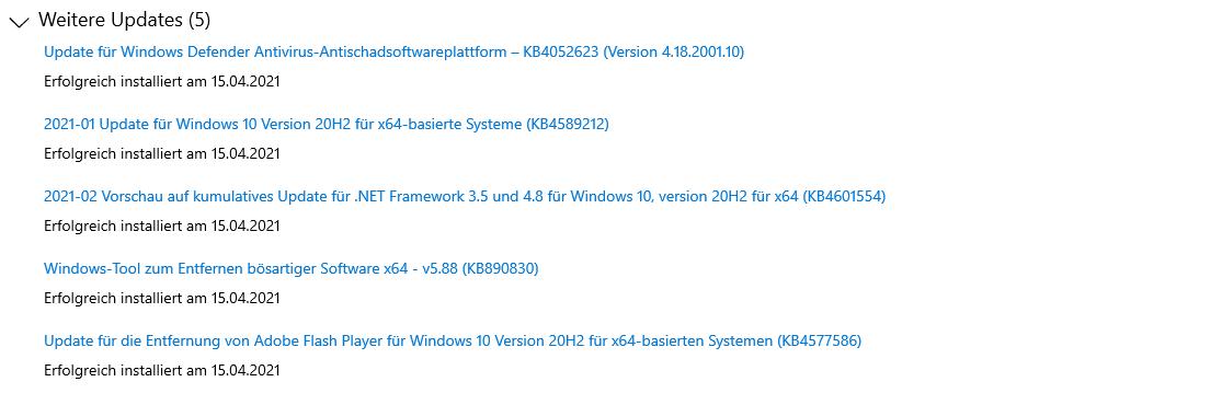 Beim Herunterladen einiger Updates sind Probleme aufgetreten 0x80d05011