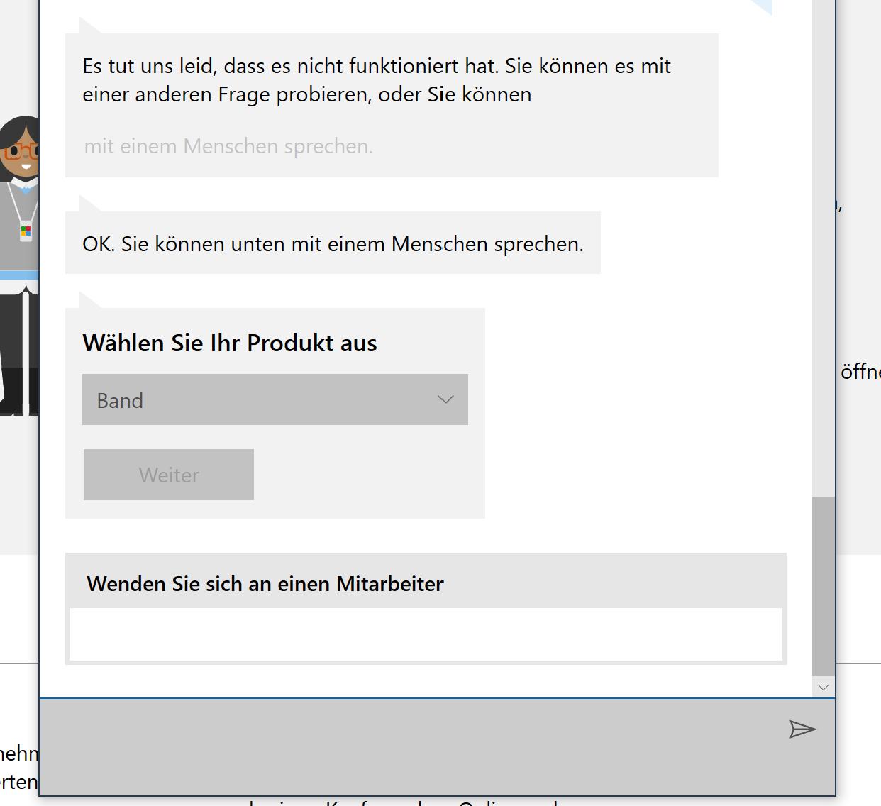"""Band 2 Rückerstattung - """"Ende des Supports für Microsoft Health Dashboard"""" Aktion"""