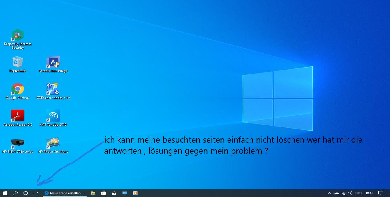 Windows Aktive anwendungen nicht löschbar ?