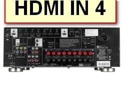 AV Receiver VSX-923 PC HDMI Ausgang mit einem freien HDMI Eingang am Receiver verbunden