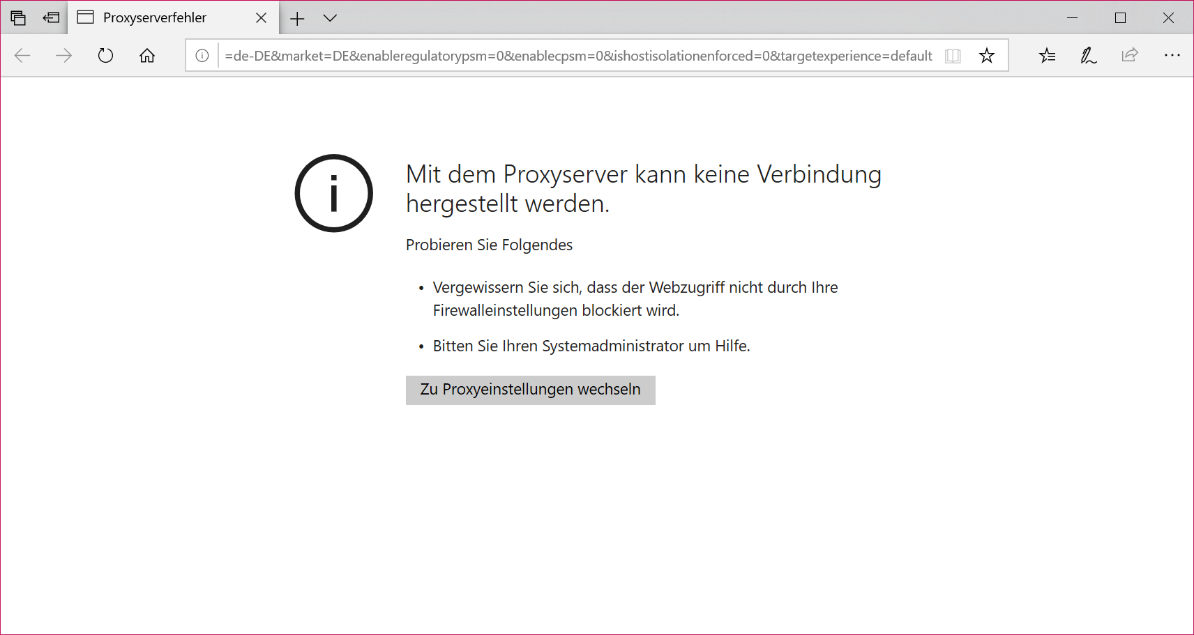 Server- und Verbindungsprobleme Windows 10, Office 365, Microsoft Store