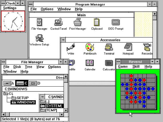 Arbeitsgruppen auf dem Desktop