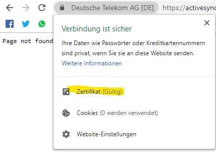 Synchronisation Samsung Omnia 7 Outlook e-mail mit T-Online Server