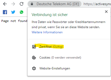 Synchronisation Samsung Omnia 7 Outlook e-mail mit T-Online Server
