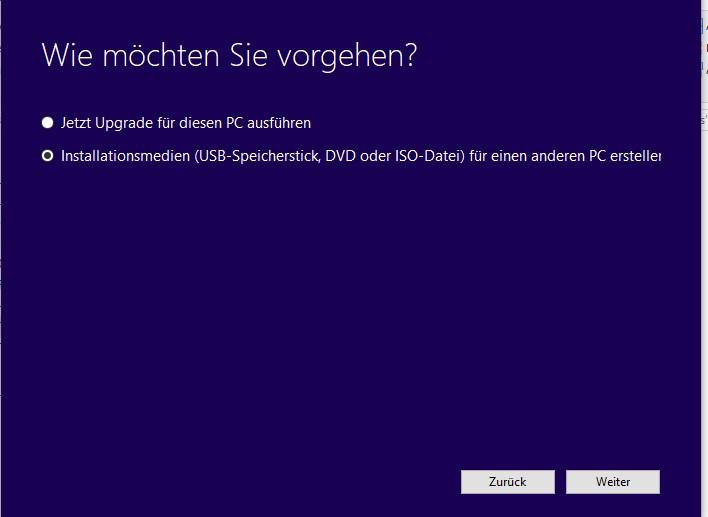 Windows UPDATE Fehlermeldung
