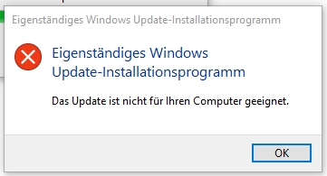 Windows Update Button