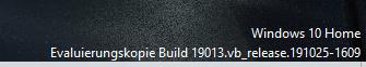 nach update seltsame einblendung im desktop unten rechts