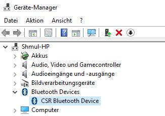 Bluetooth mit einem Gerät aktivieren