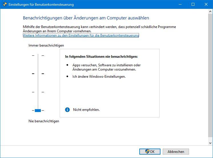 Datenträgerverwaltung lässt sich nicht mehr öffnen Diese App wurde aus Sicherheitsgründen...