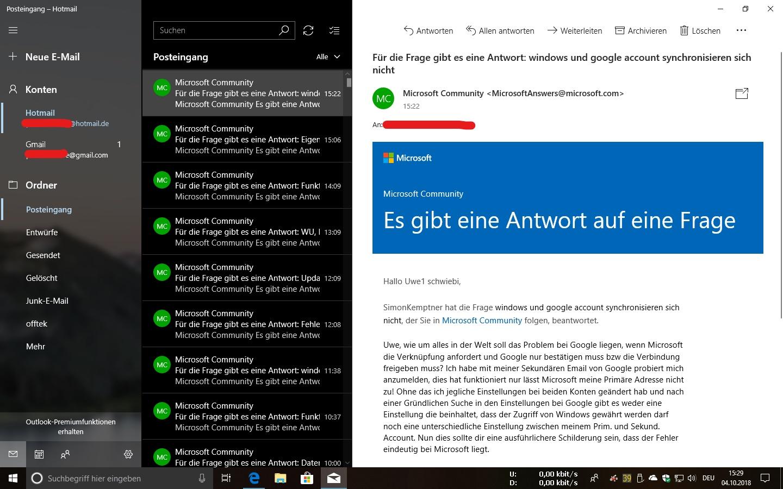 Windows 10 Kalender Mit Google Synchronisieren