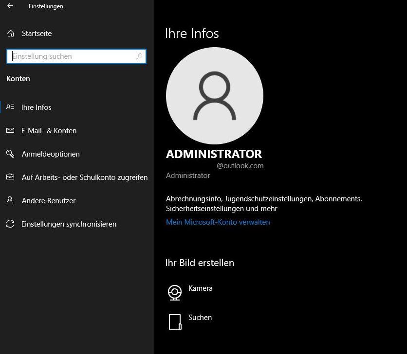 Microsoft Konto Von Pc Entfernen