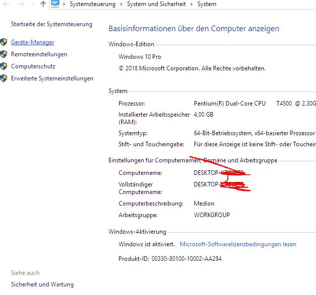 Windows aktivieren - Es wird immer der Fehlercode 0XC004C008 angezeigt.