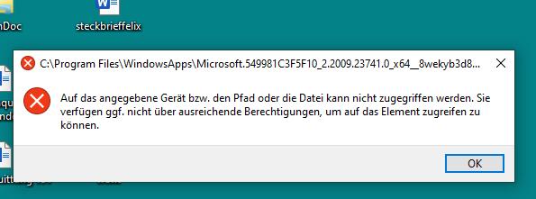 start von windows 10