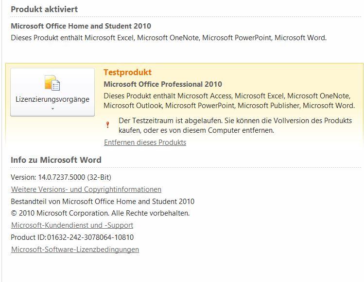 Windows 10 und Word 2010 druckt nicht