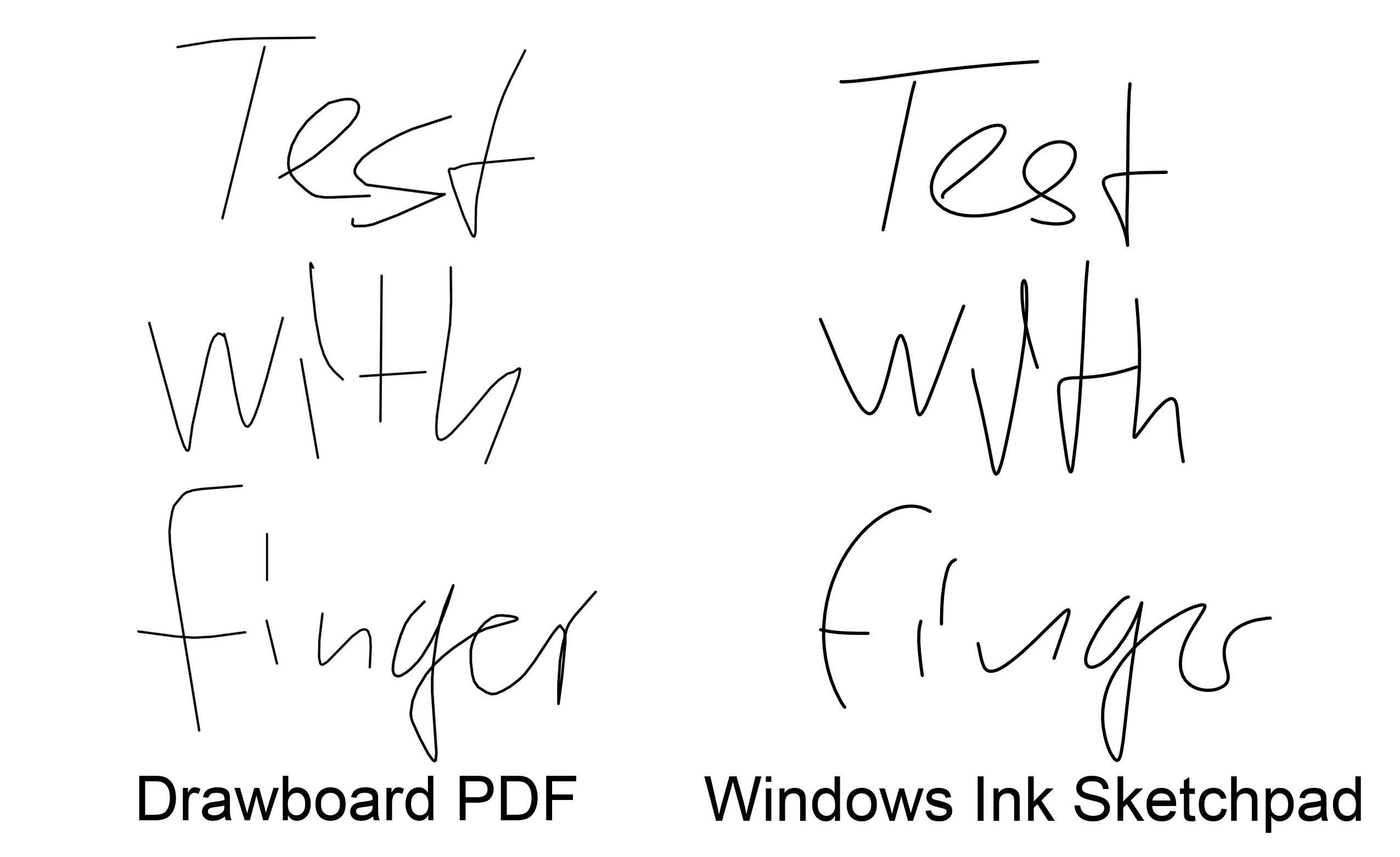 Windows Ink Schriftglättung in anderen Apps einstellen