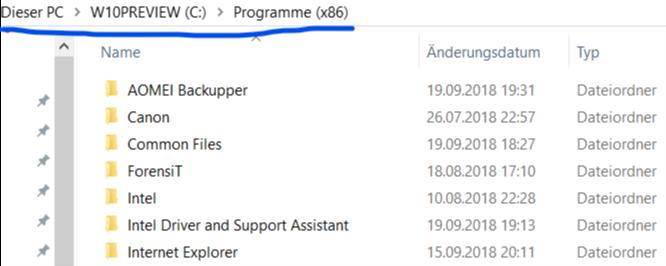 Einstellungen, Microsoft Edge & CO öffnen sich nicht