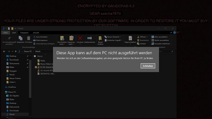 Windows 10 Verschlüsselungs Trojaner