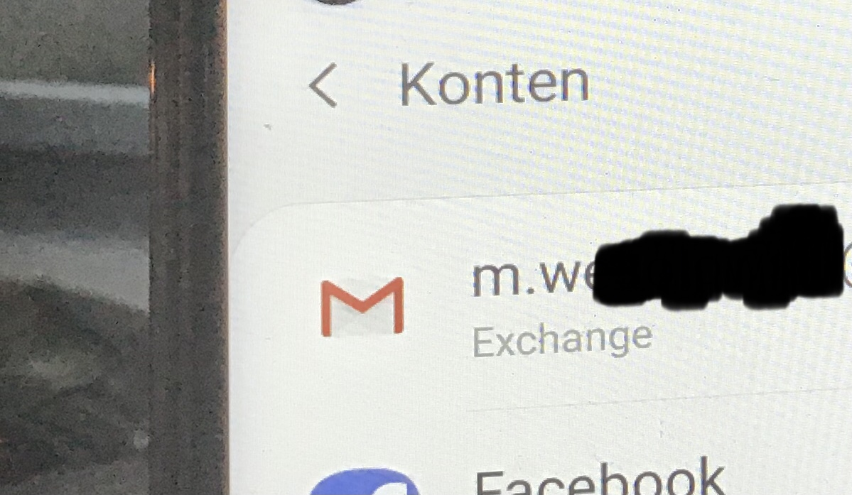 Exchange mit Android