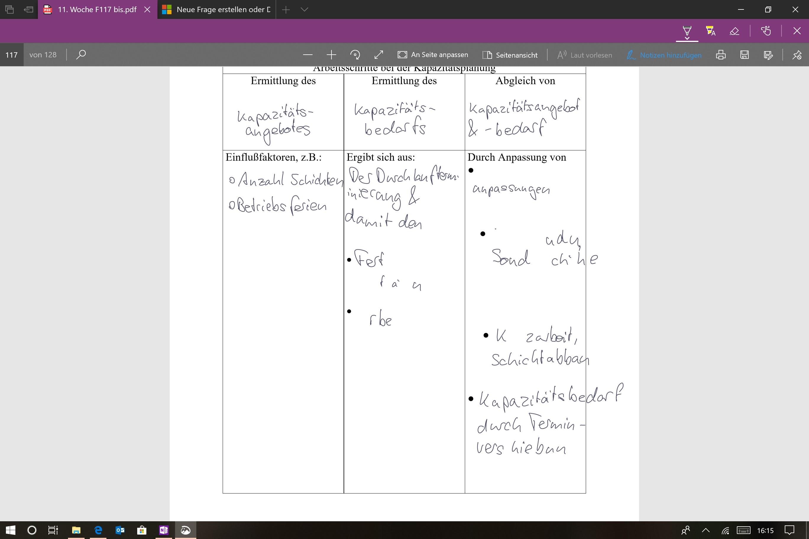 Edge speichert PDF Notizen nicht mehr richtig