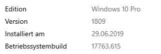 Displayerror 1-4 seit Windows Update im Mixed Reality Portal