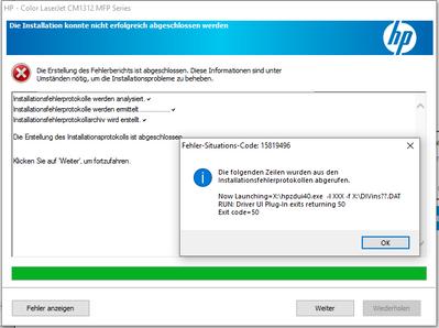 Keine Kommunikation zwischen Drucker und Desktop