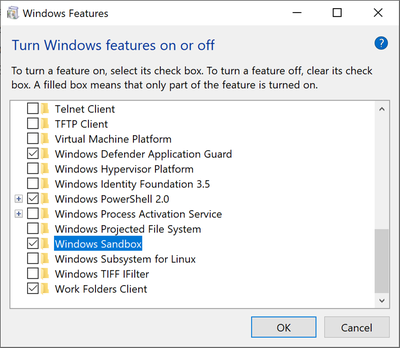 Die neue Windows Sandbox