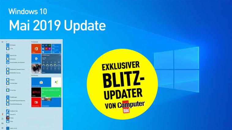 Großes Windows-10-Update ist da: Jetzt per Blitz-Updater laden