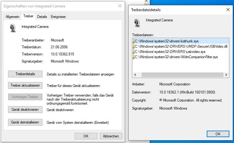 Webcam funktioniert bei Blizz nicht