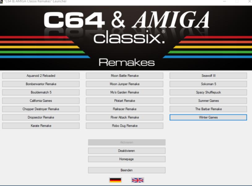 Retrogames C64, Atari, etc