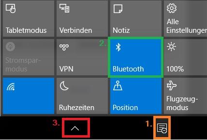 Bluetooth Übertragung Smartphone -> PC