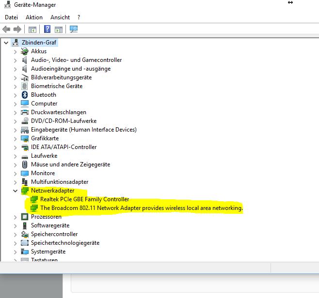 Kein WLAN / LAN mehr nach kumulativem Update für Windows 10 Version 1607 (KB3194798)
