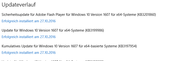 Windows 10 lässt sich seit Update nicht mehr starten