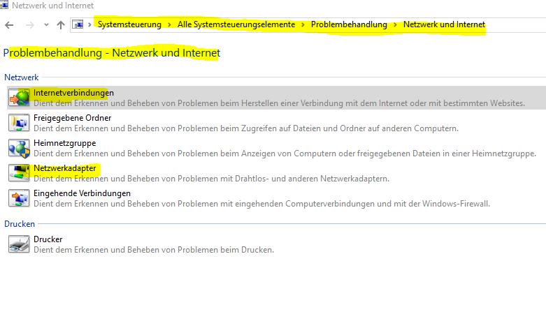 Keine Internetverbindung in Firefox und Chrome