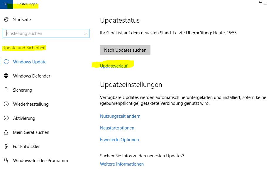 Windows 10 Home Version 1511 Update