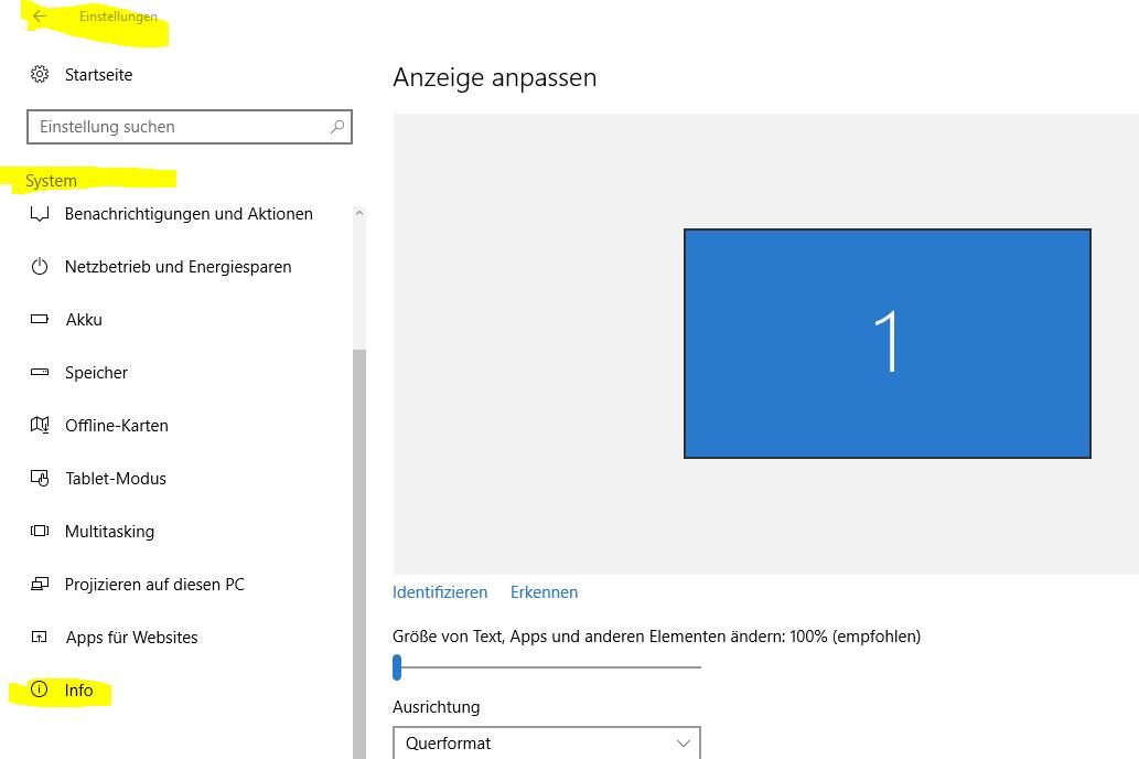 Windows 10 wurde installiert, aber Version 8.1 wird angezeigt