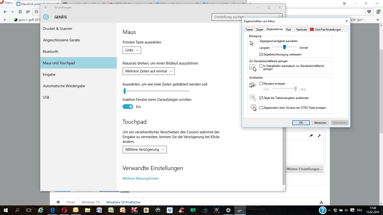 Windows Reagiert Nicht Auf Mausklick