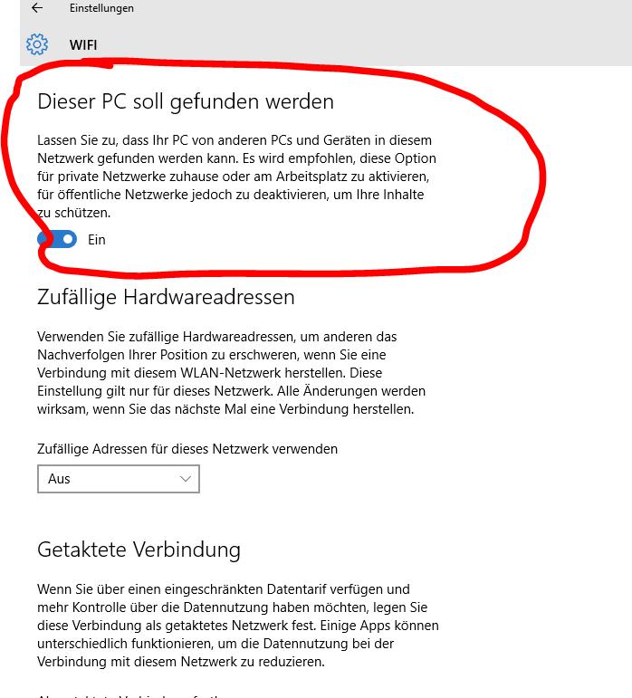 Windows 10: WLAN lässt sich nicht einschalten