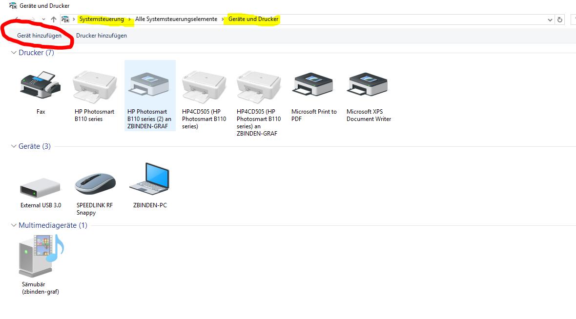 Windows-Phone wird nicht mehr in Datei-Explorer angeboten