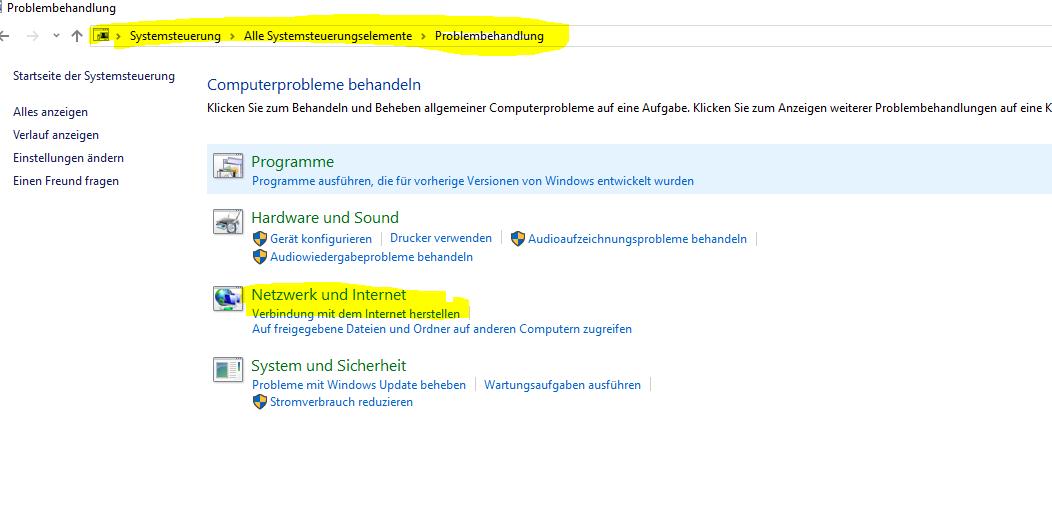W-lan Verbindung Windows 10 nicht möglich