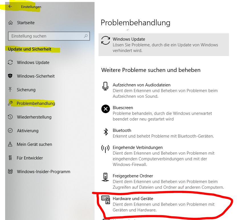 USB Tastatur bei Windows 10 Start nicht erkannt
