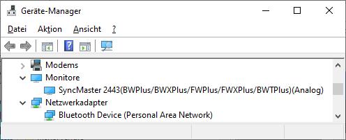 Passende Bildschirmauflösung gibt es nicht mehr seit Update??