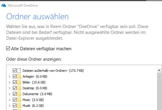 Onedrive synchronisiert nach Update nicht mehr