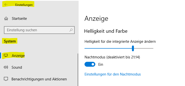 Betrifft Windows 10 Version 1903