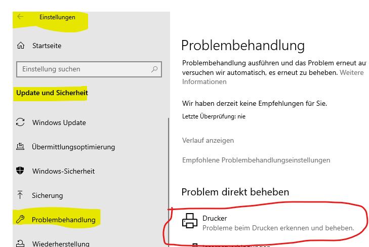 Lexmark Scanner unter Windows 10 scannt nur schwarz-weiß
