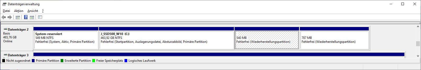 Update auf Windows 10 Version 20H2 nicht möglich