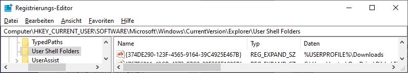 Download Systemordner verschwunden